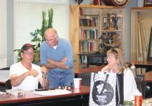 Gil, Syd Krutop & Tracy Murdoch.