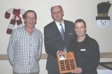 Wayne Deptuck with Gill Schiller & Len Piggin