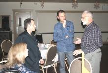 Lesli & Wayne Deptuck, Darren Clark & Mike Doutaz