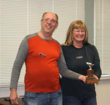 Fly of the Month award to Keeners to Tracy Murdoch and Tayor Culver