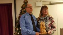 Tracy Murdoch - Hard Luck award