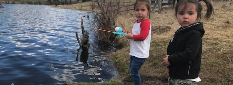 Edith Fishing
